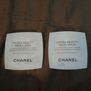 Chanel hydra beauty micro creme and serum